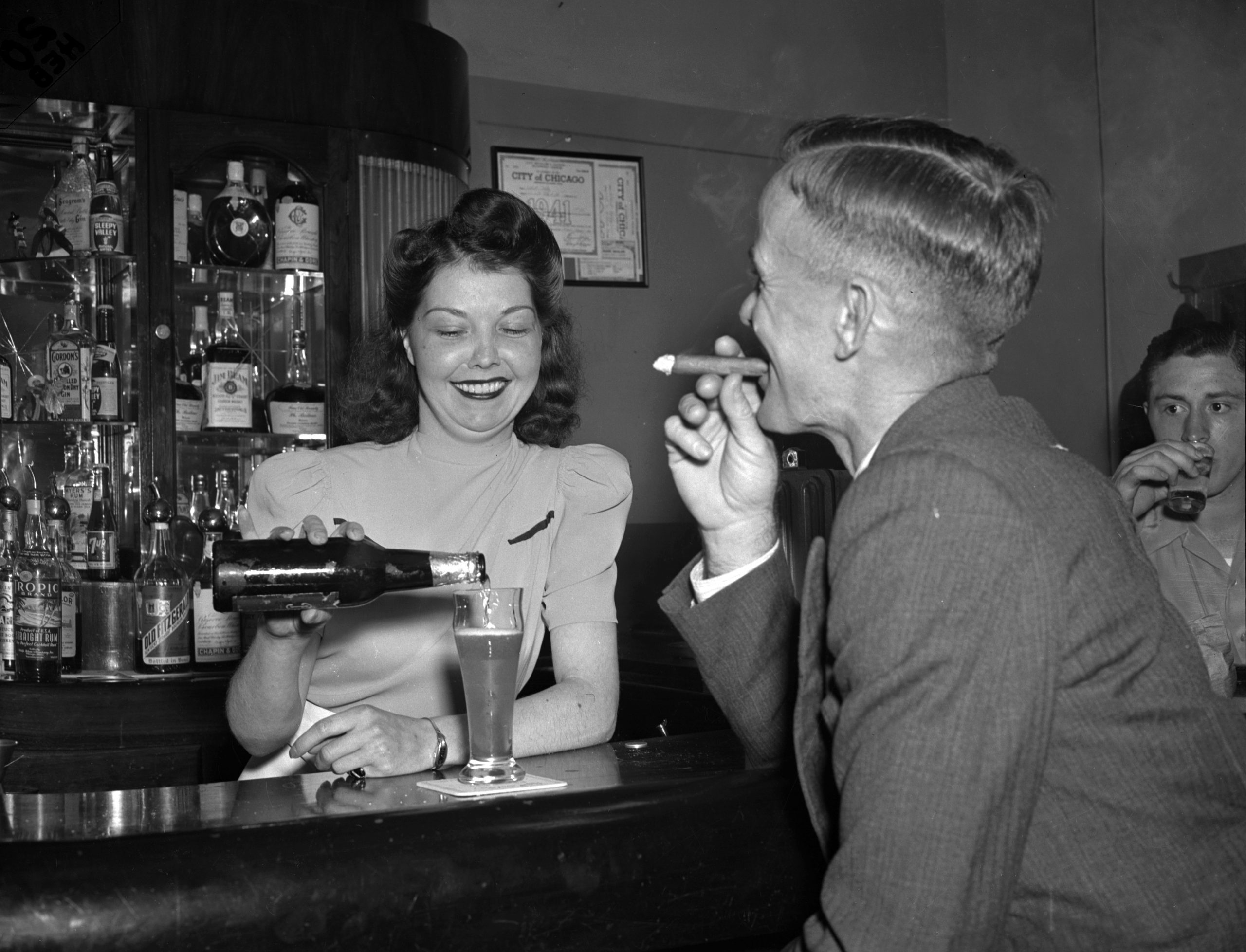50 Years Ago, Female Bartenders Became Legal In Chicago photo