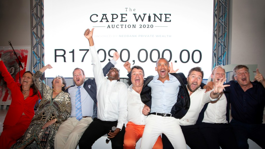 Cape Wine Auction Raises Over R17 Million photo