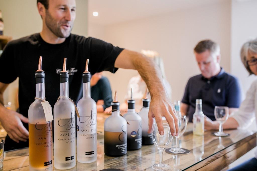 Distillery Holding Taster Event photo