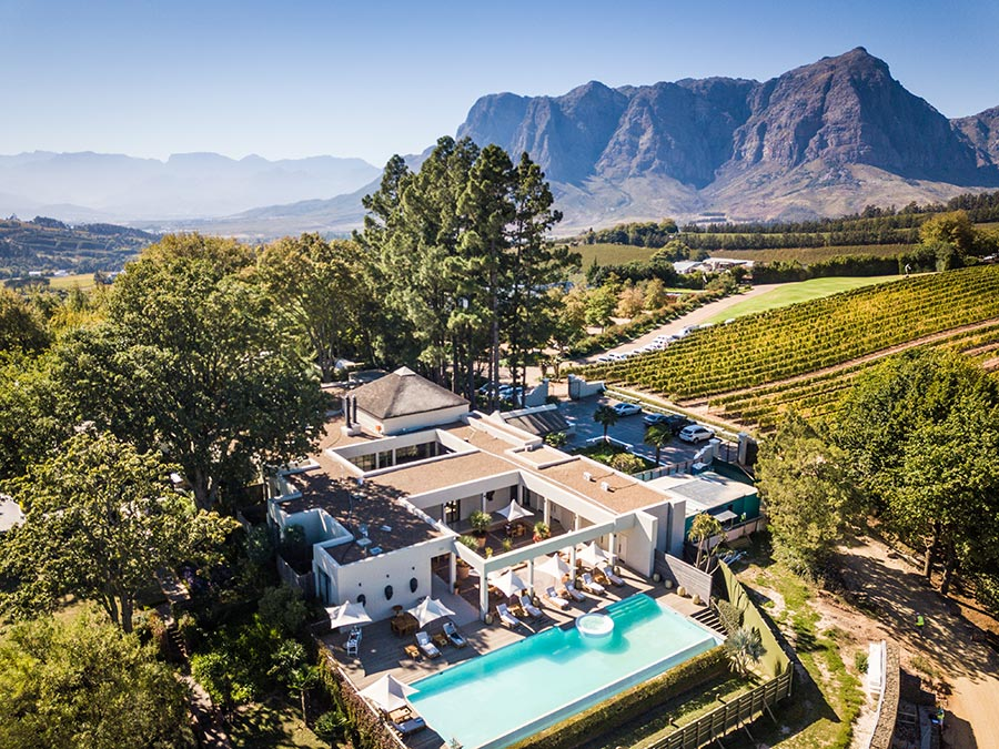 Delaire Graff Estate Acknowledged By The 2020 Forbes Travel Guide With Pinnacle Global Travel Award photo