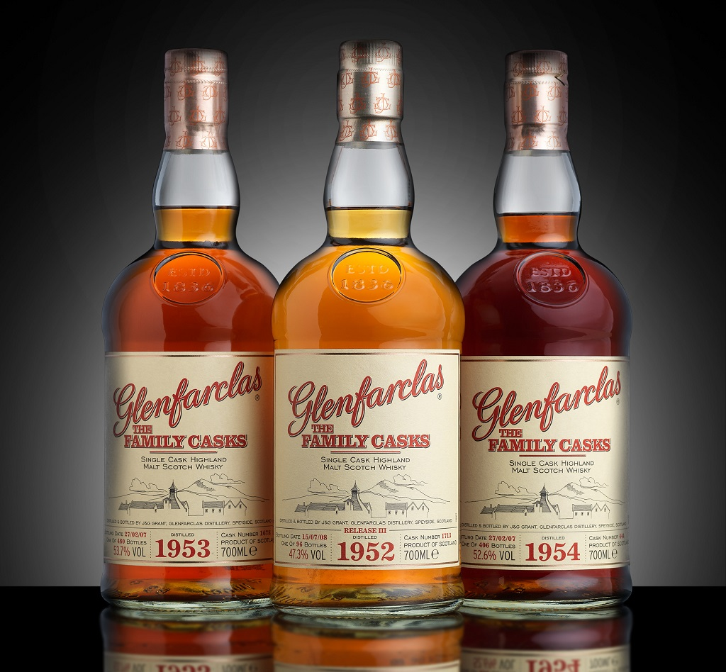 First Complete Set Of Glenfarclas Goes To Auction photo