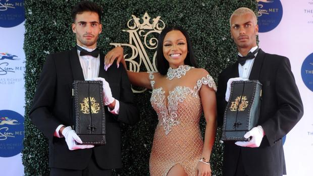 Bonang Unveils New Mcc From House Of Bng At Sun Met photo