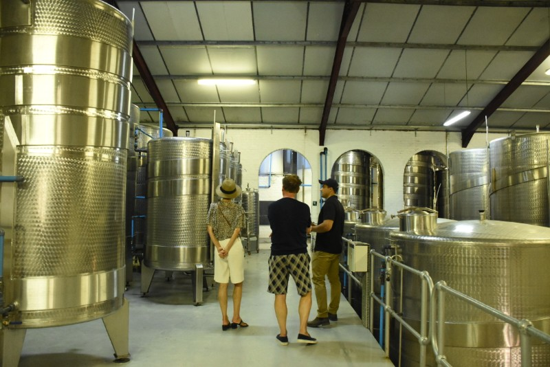 Explore The Jordan Wine Cellar During The 2020 Harvest! photo
