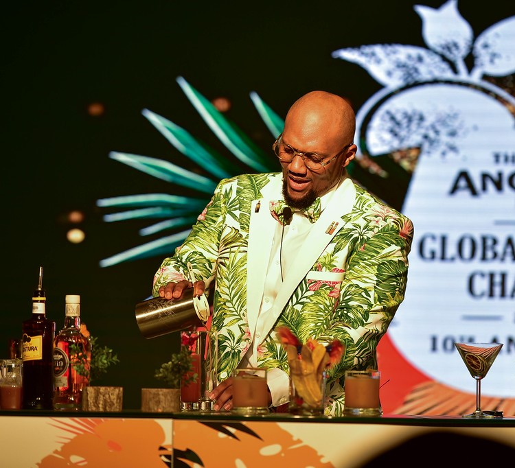 Marv Cunningham, from The Bahamas, wins Angostura® Global Cocktail Challenge in Trinidad & Tobago photo