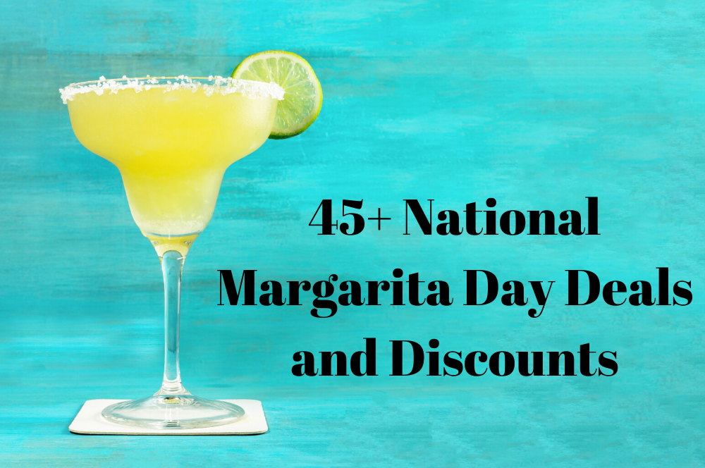Raise A Toast To These 45+ National Margarita Day Deals And Discounts photo