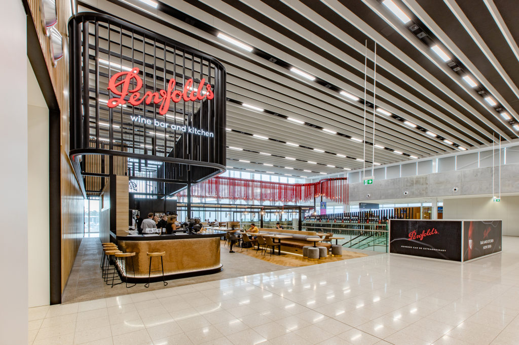 """a Taste Of Magill Estate:"" Penfolds Wine Bar And Kitchen Begins Trading At Adelaide Airport photo"