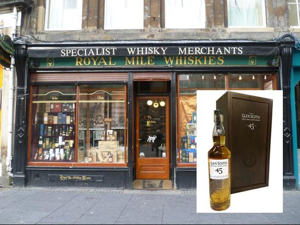 Royal Mile Whiskies Ask For Help To Find Rare Bottle Of Single Malt After It Was Stolen From Shop photo
