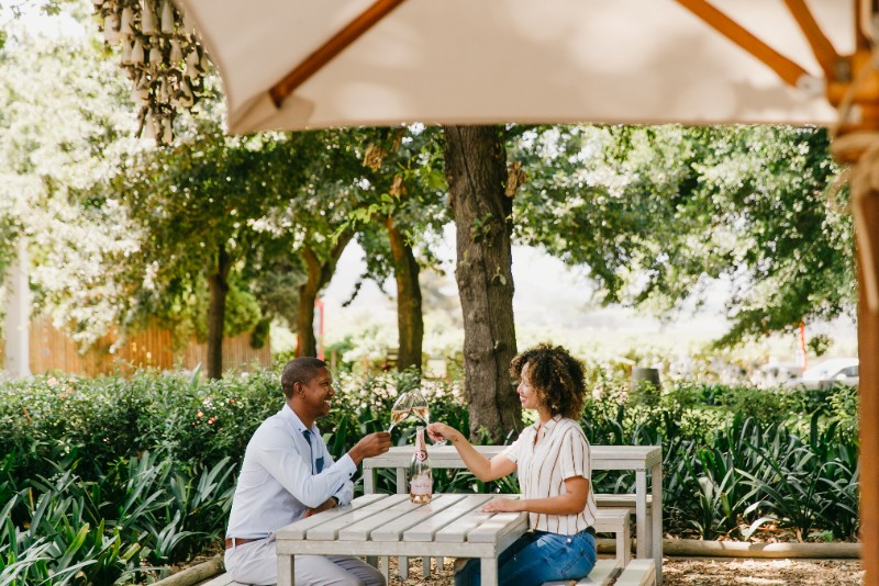Say it with Simonsig Rosé this Valentine's Day photo