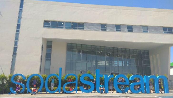 Eam Made Exciting At Sodastream – photo