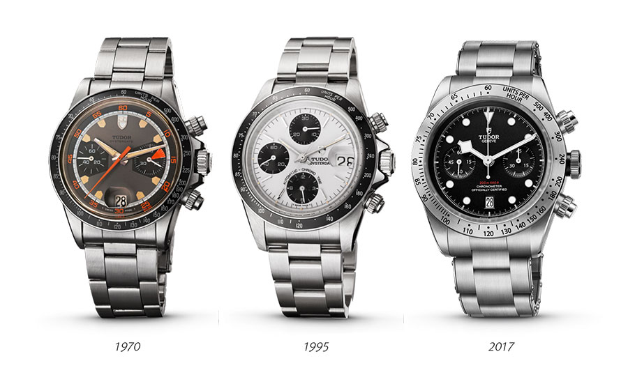 Tudor 50 Years Of Chronographs photo
