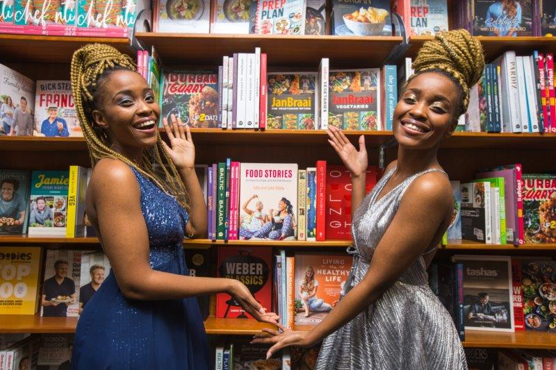 Lebo And Tebo Ndala 'spill The Tea' At The Launch Of Their Cook Book photo
