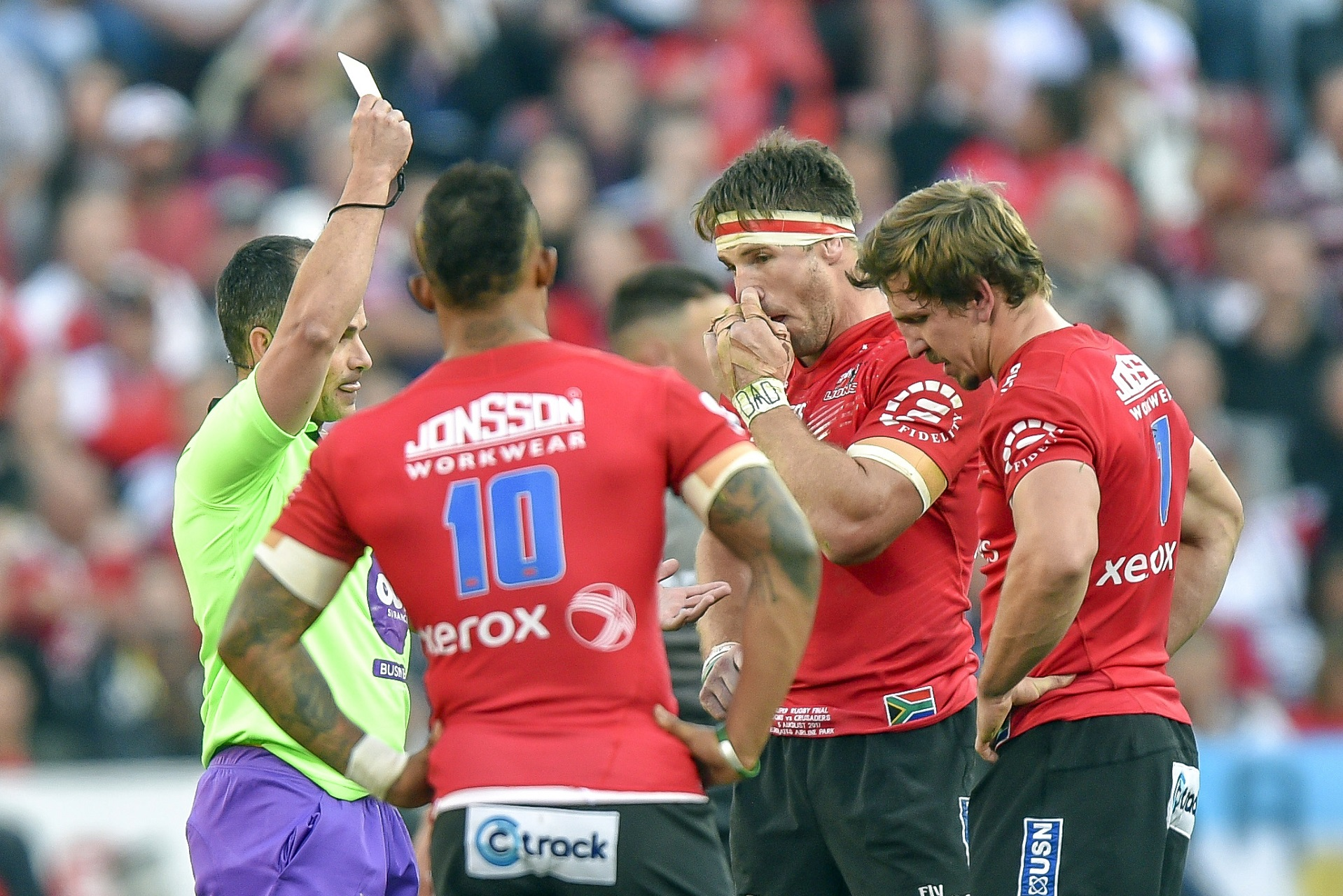 Super Rugby: Sa Teams Favoured By Home Referees photo