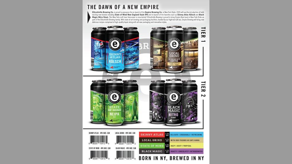 Western New York Brewery To Revive Empire Beer photo