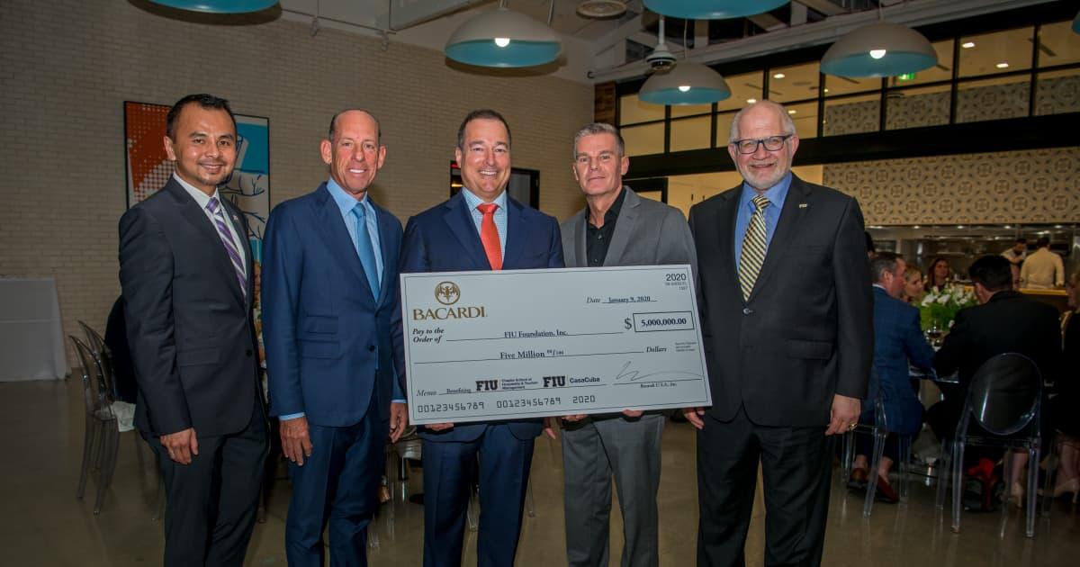 Bacardi Usa Donates $5 Million To Florida International University photo