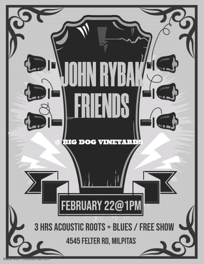 John Rybak Friends At Big Dog Vineyards photo
