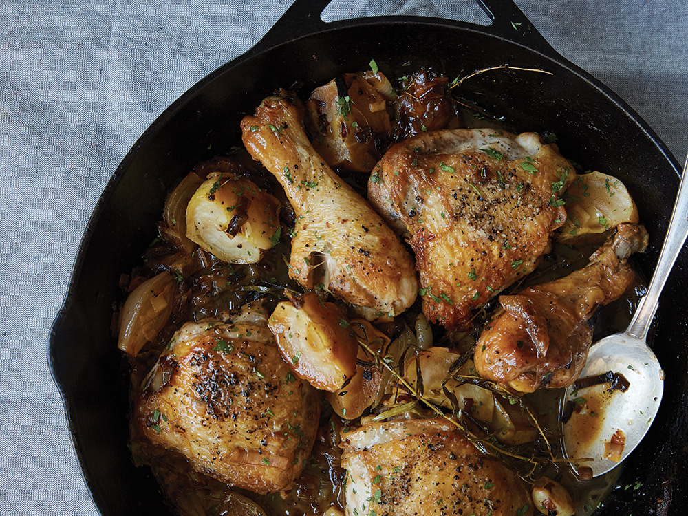 Cook This: Braised Chicken With Apples And Cider From Cannelle Et Vanille photo