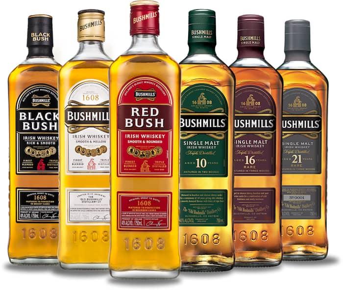 Whiskey Review Round Up: Bushmills Irish Whiskey photo