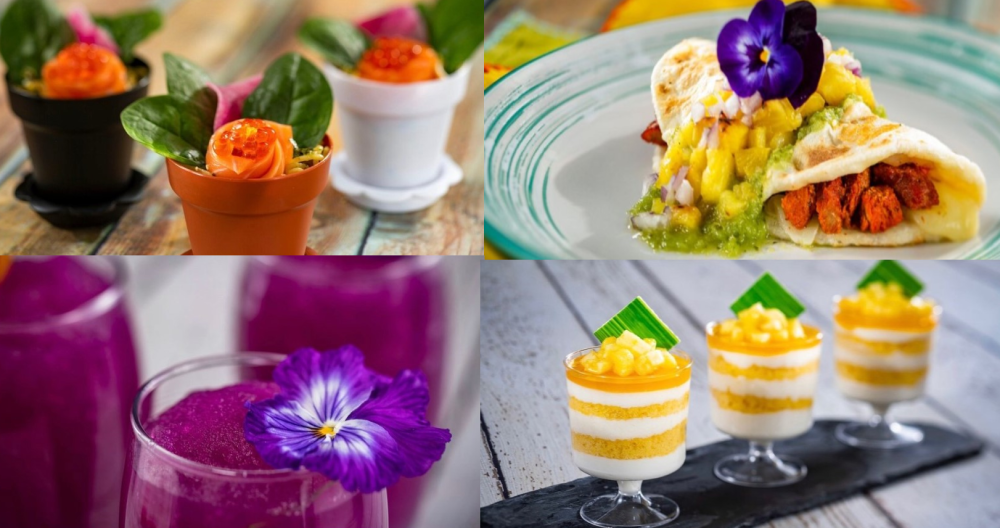 Outdoor Kitchen Menus Revealed For Epcot's International Flower And Garden Festival photo