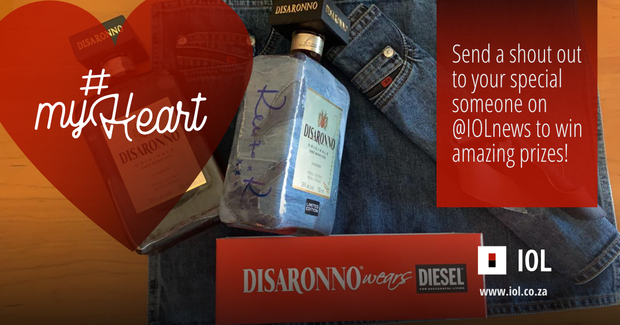 Win A Limited Edition Diesel Pack, Including 'disaronno Wears Diesel', In Iol's #myheart Competition photo
