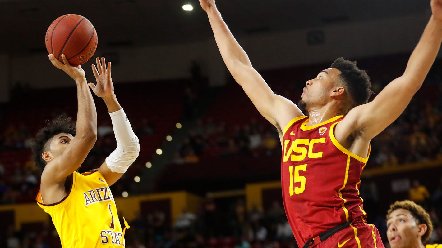 Remy Martin Jumper With 16 Seconds Left Lifts Asu Past Usc photo