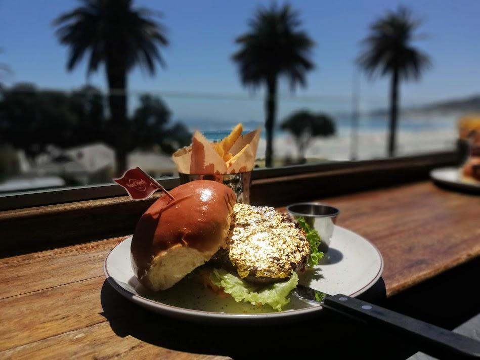 Hard Rock Cafe Rolls Out New Menu Fit For A Rock Star — Including A 24-Karat Gold Leaf Steak Burger photo
