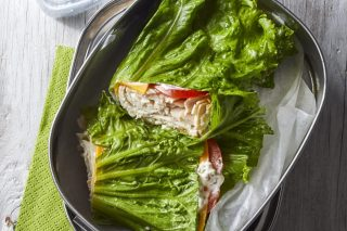 Recipe: Turkey & Cheddar Lettuce Wraps photo