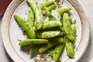 Recipe: Dilly Pickled Snap Peas photo