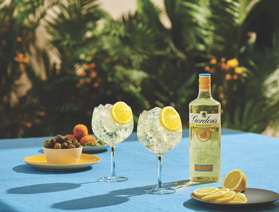 Gordon's Gin Launches New Sicilian Lemon Flavour photo