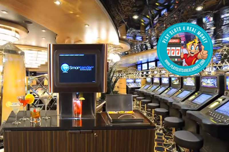 Machines Are Replacing Bartenders To Speed Up Drinks Service At Casino photo