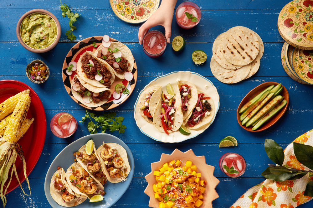 mexican feast Why Mexican Food Is The Best Choice For A Festive Party