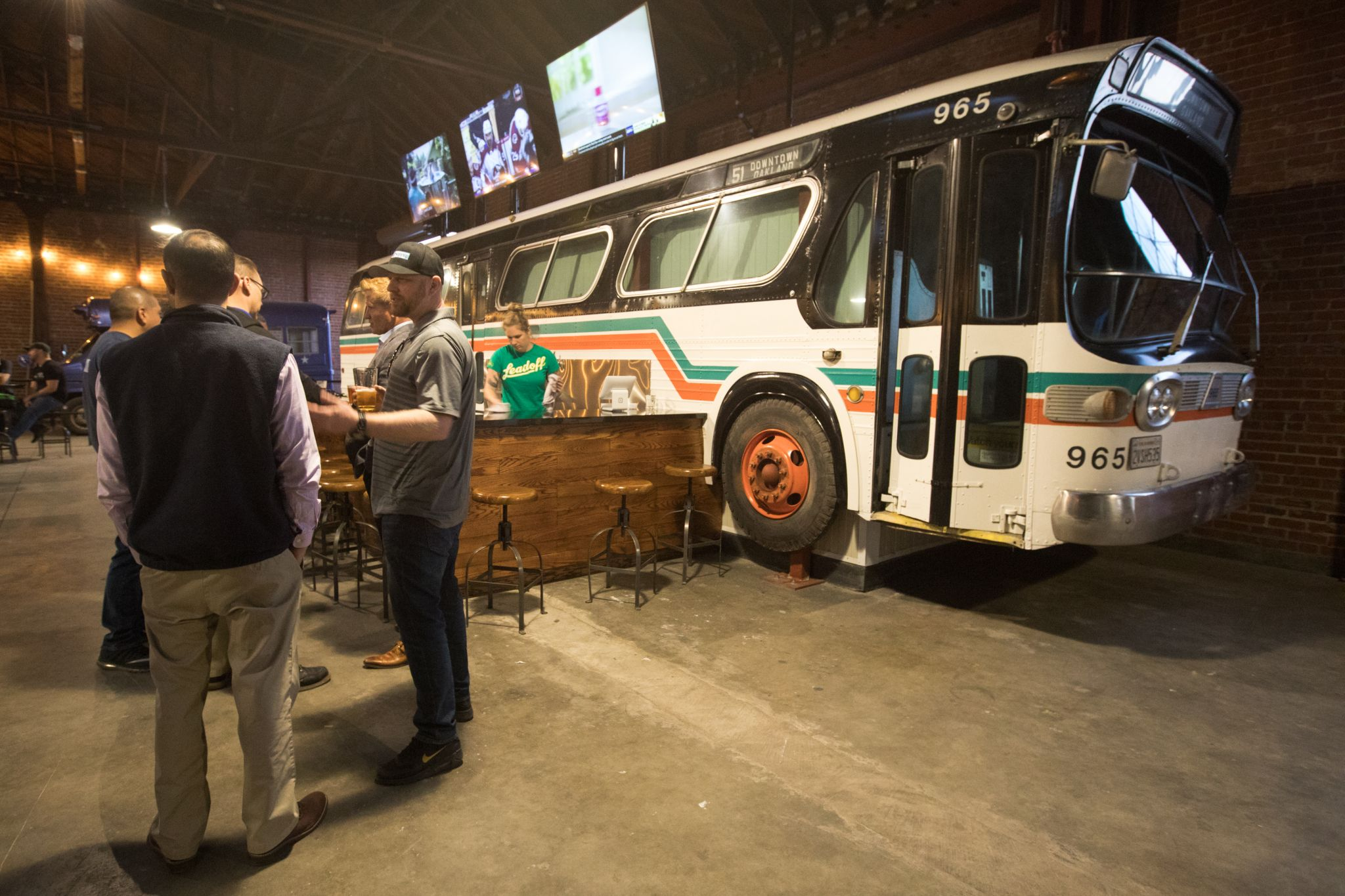 Line 51 Brewery Opens In Oakland With A Transit-inspired Surprise In Store For Customers photo