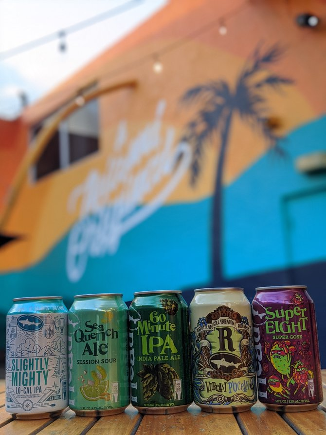 Dogfish Head Begins Residency At Boston Beer Company's Concrete Beach Brewery photo