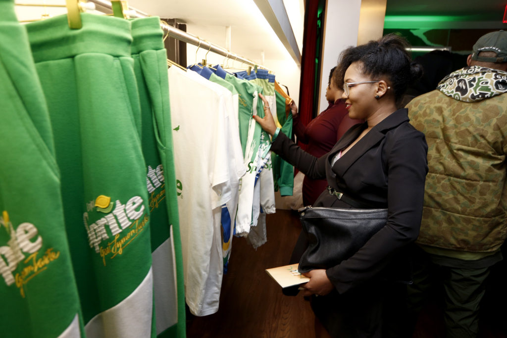Sprite Launches Sprite Ginger Capsule Collection In New York City photo