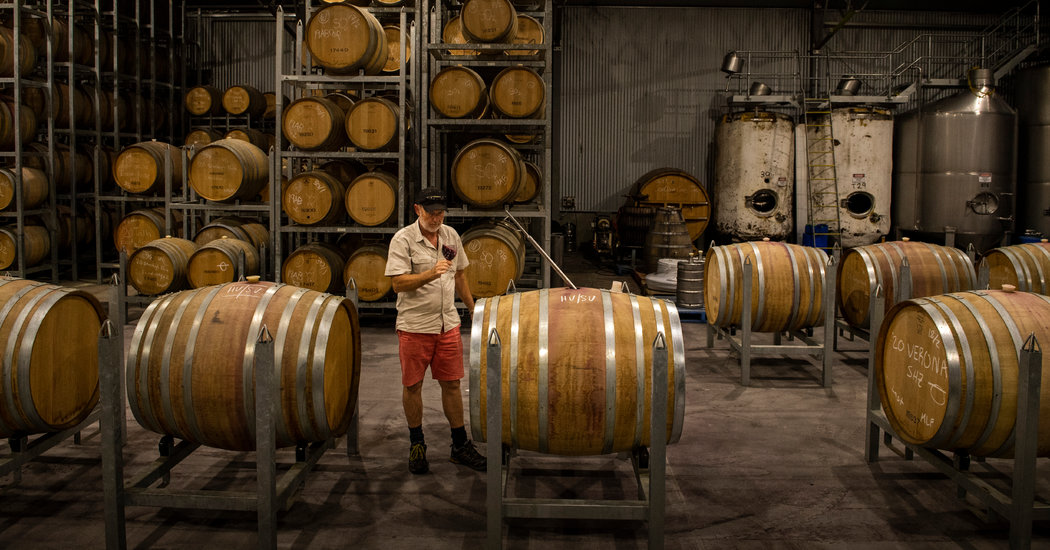 'like Licking An Ashtray': Fires' Invisible Threat To Australia's Wines photo