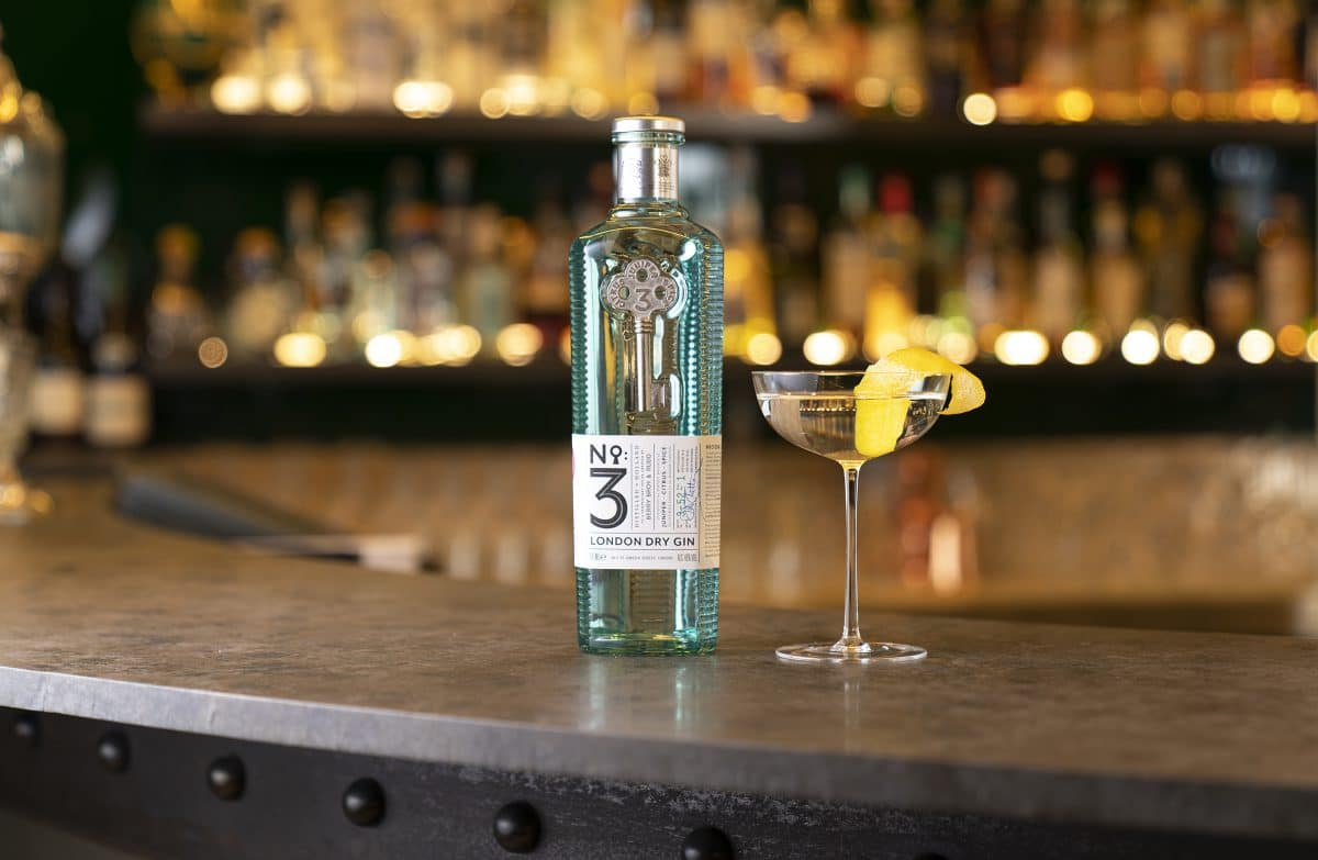 No.3 London Dry Gin Debuts New Bottle And Brand Platform photo