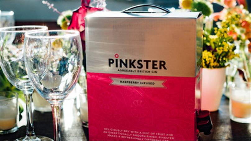 You Can Now Order A Three Litre Box Of Pink Gin photo