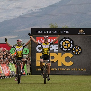 Fighting Talk Ahead Of The 2020 Absa Cape Epic photo