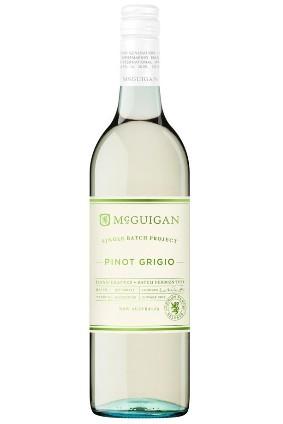 Mcguigan Wines' Single Batch Project Pinot Grigio photo