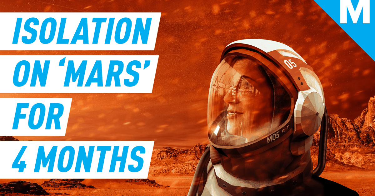 What I Learned About Isolation After 4 Months On 'mars' photo
