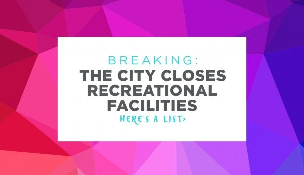 Breaking: City Closes Public Facilities photo