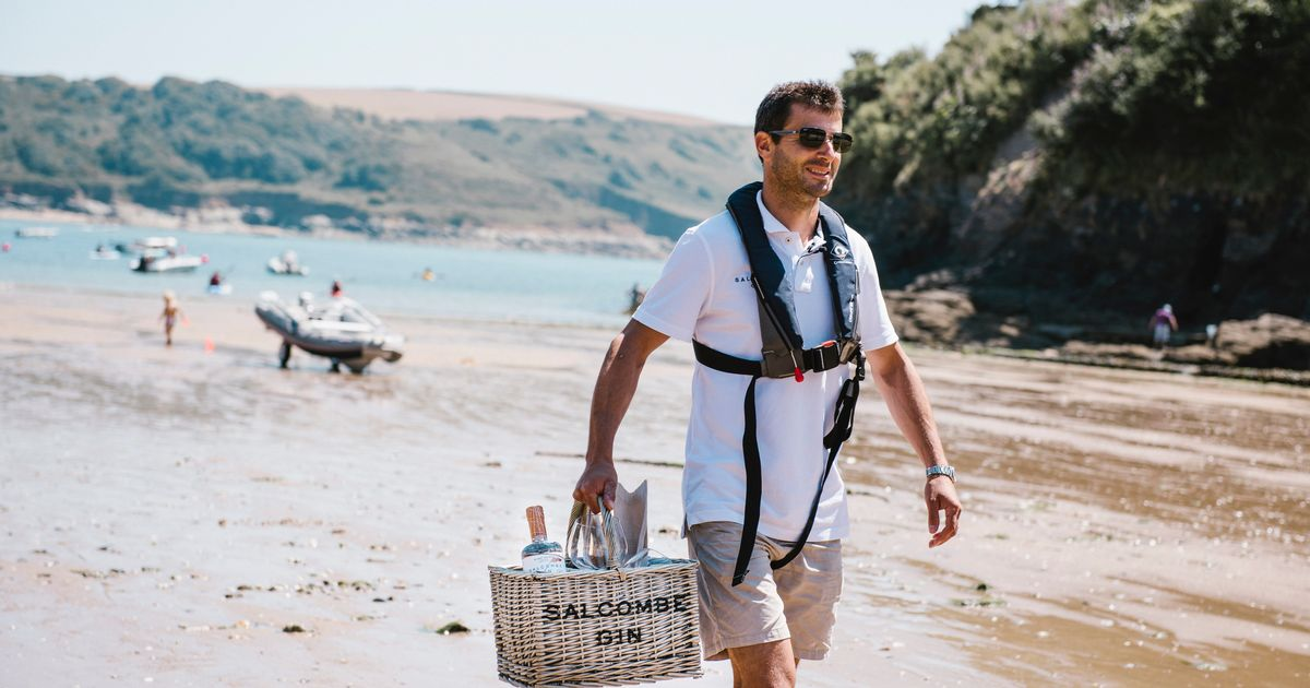 Salcombe Gin Launch Delivery Service photo