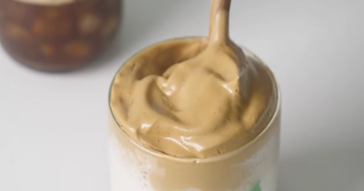 How To Make The Creamy Coffee That's All Over Tiktok photo