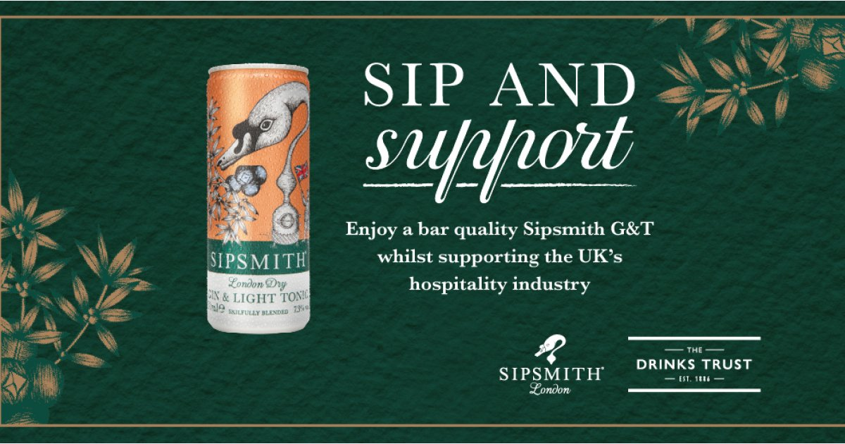 Sipsmith Is Rewarding Those Who Donate To Their Fundraiser With Free G&ts photo