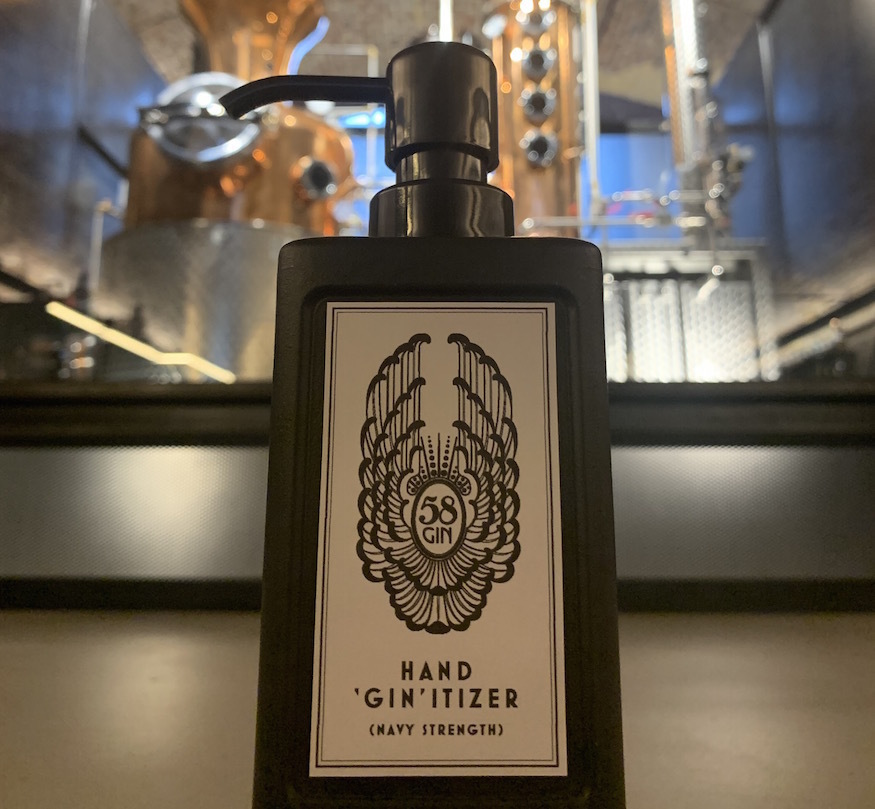 This London Gin Distillery Is Now Making Hand Sanitiser Instead photo