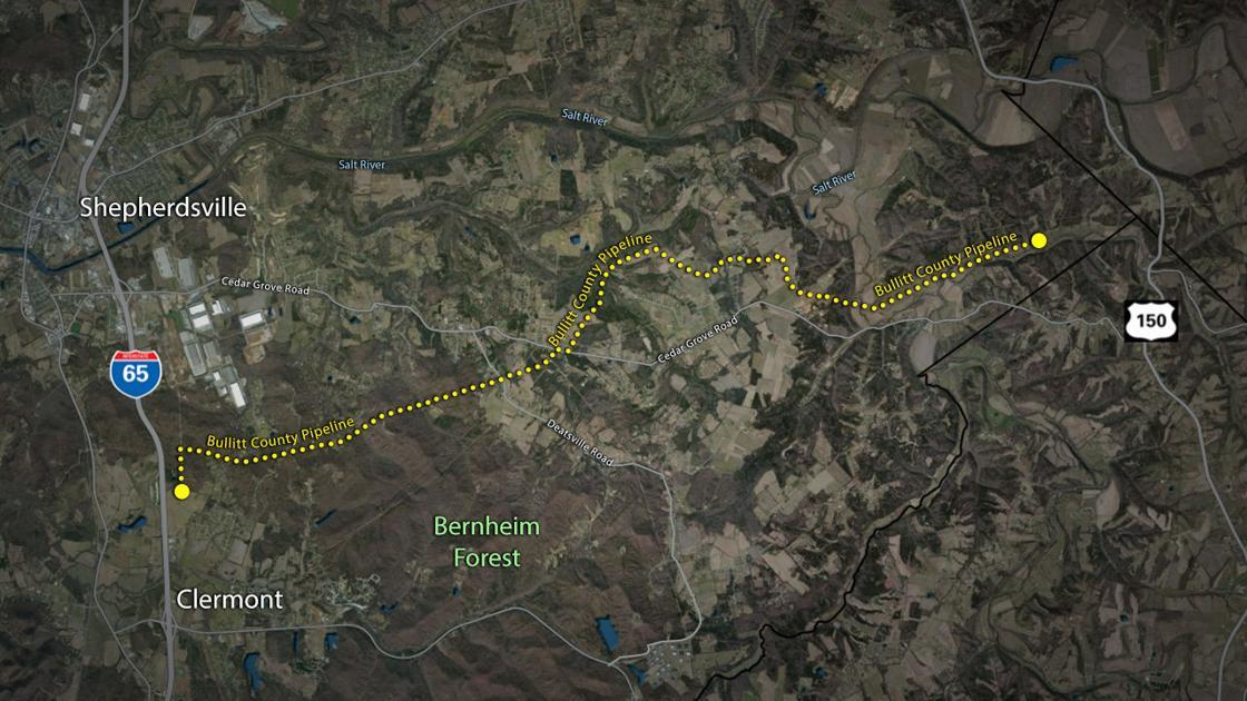 Attorney: Lg&e Pipeline In Bullitt County Was 'jim Beam's Idea' photo