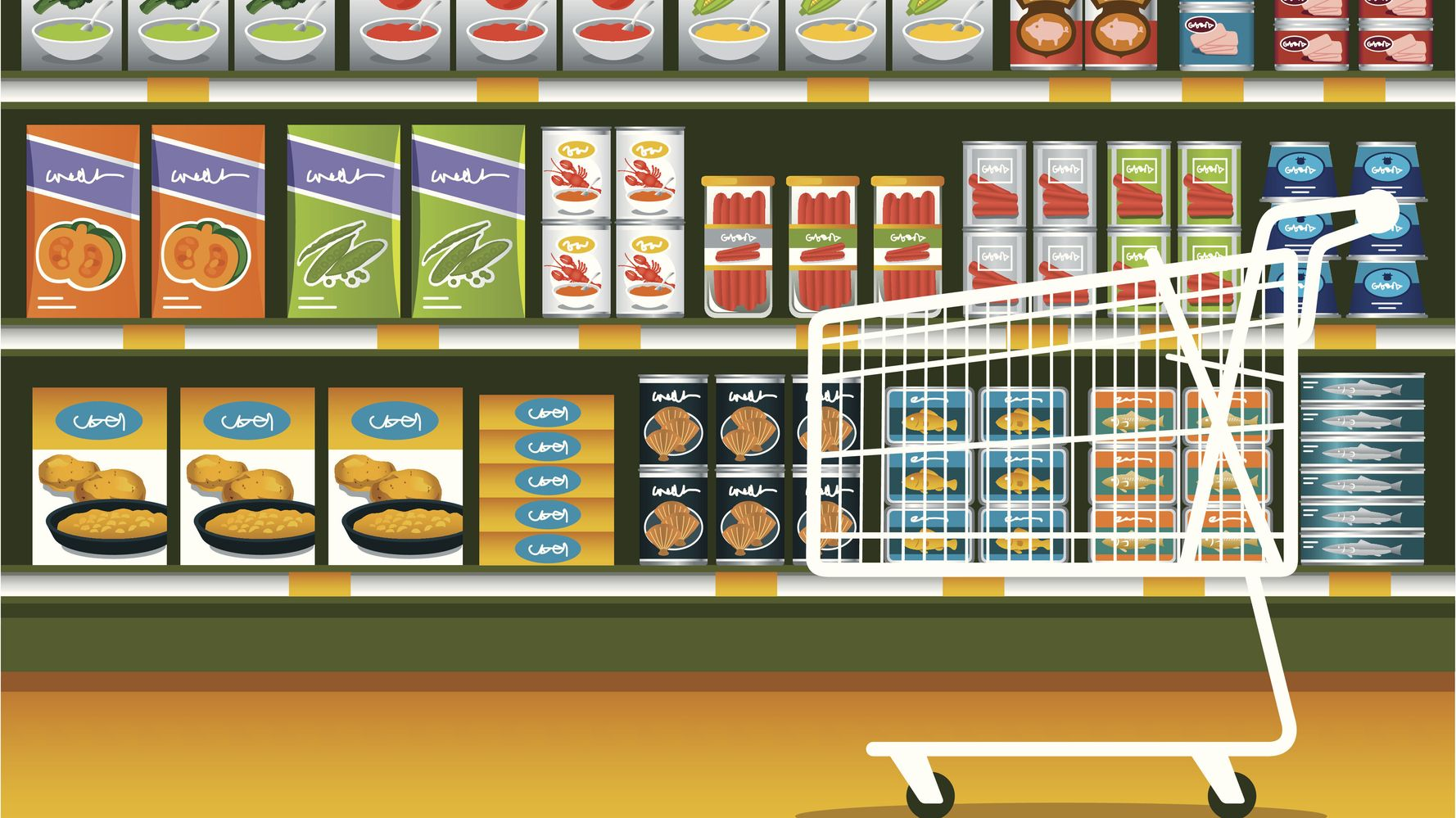 Grocery Shopping For A Quarantine: What To Buy And How Much photo
