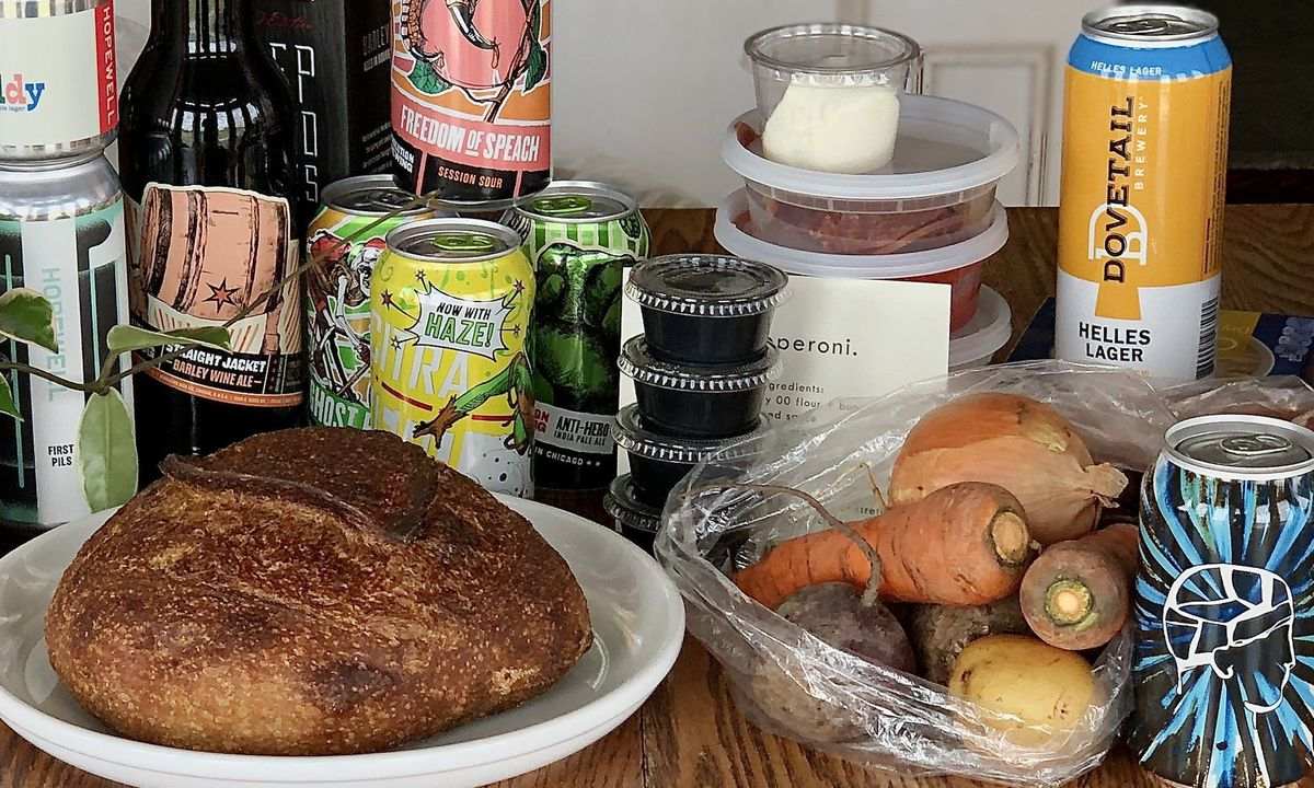 Socially Distant Beer Crawl: We Pick Up Beer At Six Chicago Breweries To Enjoy Safely On The Couch At Home photo