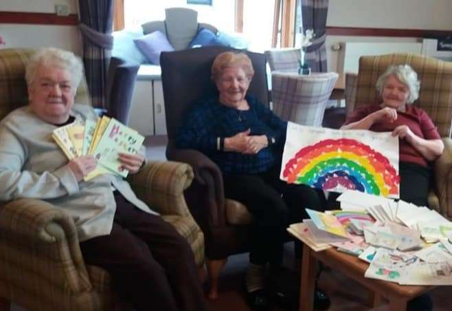 Wick Care Home Residents And Staff Delighted With Support From Community photo