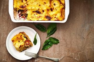 Recipe: Lentil, Spinach And Ricotta Lasagne photo
