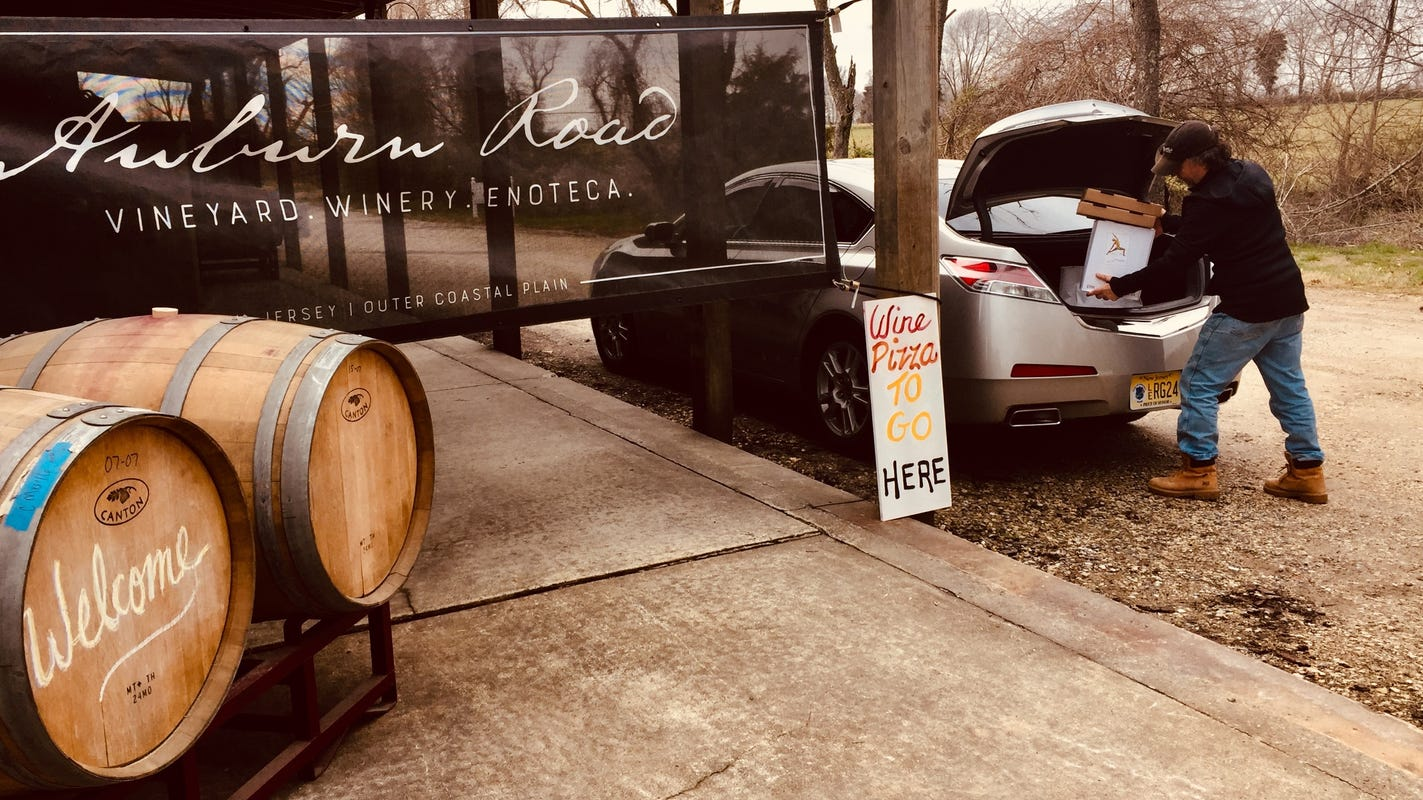 Nj Wineries: Garden State Vineyards Offer Curbside Pickup, Delivery In Response To Coronavirus photo